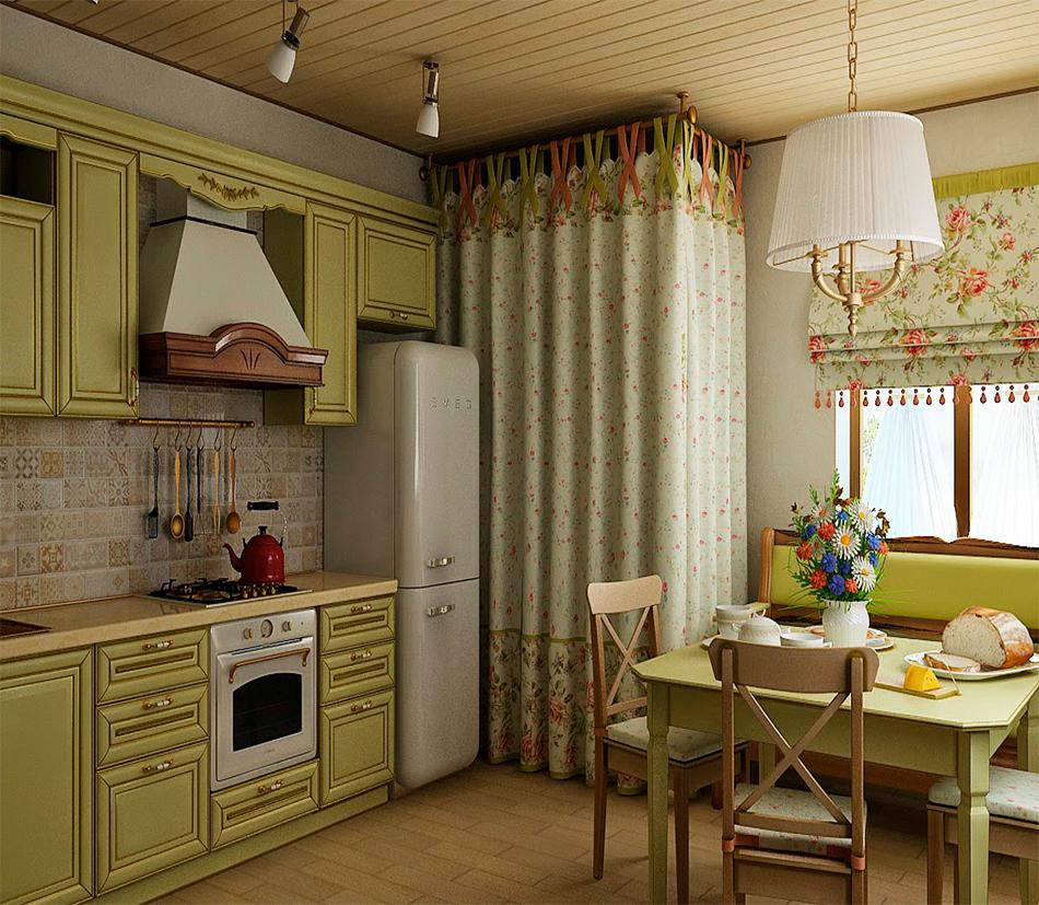 шторы на кухню в стиле прованс картинки способен