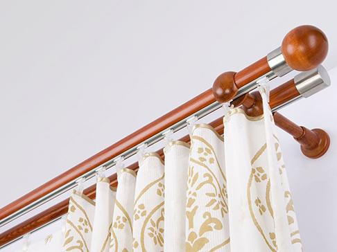 Купить ХУГАД Карниз гардинный, белый, 120-210 см по выгодной цене ... | 364x486