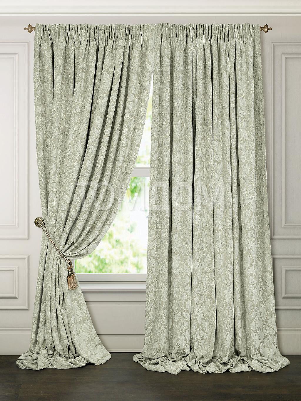 Какие шторы подойдут к зеленым обоям с цветами