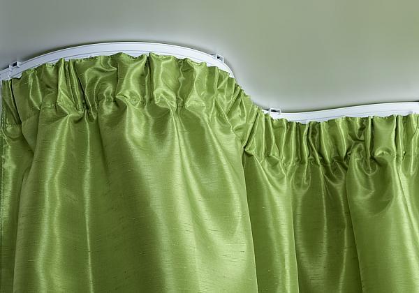Карниз Гибкий, потолочный профиль, Смик — ширина — 6,00 см. фото