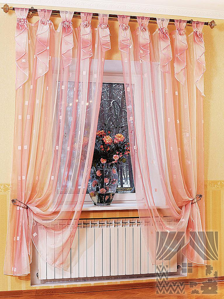 Фото шторы дизайн на петлях