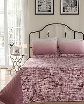цена Покрывало ТомДом Чакион (пудрово-розовый) онлайн в 2017 году