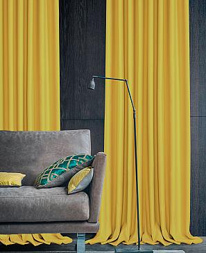 Фото - Элести (жёлтый) комплект штор томдом мигра жёлтый
