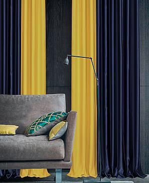Фото - Эфти (сине-жёлтый) комплект штор томдом мигра жёлтый
