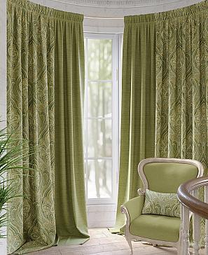 Комплект штор ТомДом Альбис (зеленый) комплект полотенец томдом тафири зеленый