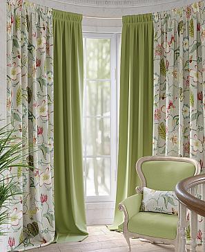 Комплект штор ТомДом Амбрис (зеленый) комплект полотенец томдом тафири зеленый