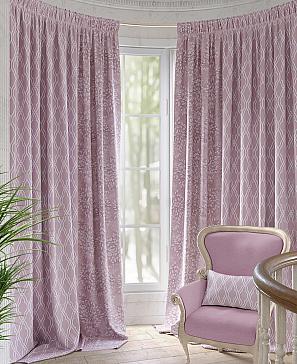 Фото - Желин (розовый) комплект штор томдом глориси розовый