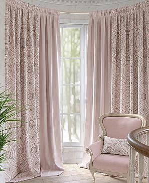 Фото - Армель (розовый) комплект штор томдом глориси розовый