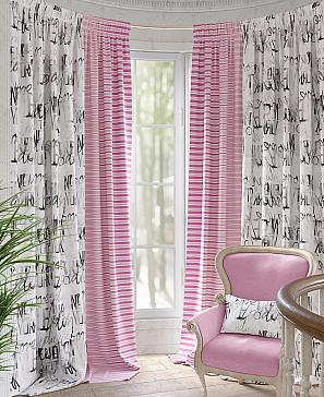 Фото - Таронис (розовый) комплект штор томдом глориси розовый