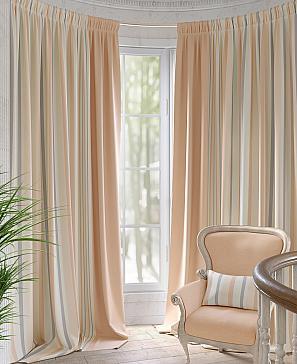 Комплект штор ТомДом Блэрин (персиковый)