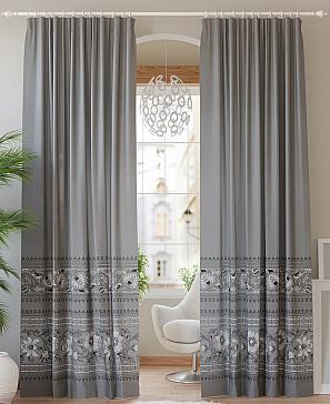 Бланка (серый) комплект штор томдом шелби серый