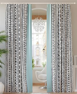 Комплект штор ТомДом Карлитос (тиффани) фото