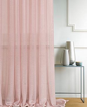 Тюль ТомДом Гинер (пыльно-розовый)