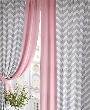 Фото - Глориси (розовый) комплект штор томдом глориси розовый