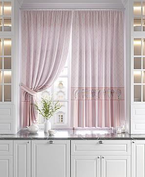 Фото - Дрилси (розовый) комплект штор томдом глориси розовый