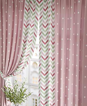 Фото - Ларгонс (розовый) комплект штор томдом глориси розовый