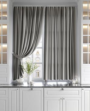 Торкиз (серый) комплект штор томдом шелби серый
