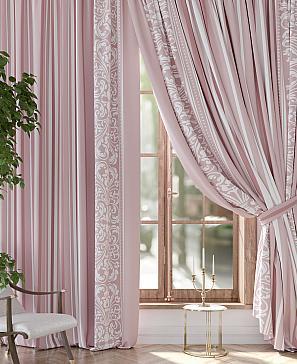 Фото - Фронко (розовый) комплект штор томдом глориси розовый