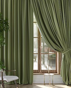 Комплект штор ТомДом Кромпис (зеленый) комплект полотенец томдом тафири зеленый