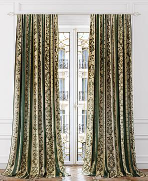 Комплект штор ТомДом Лонгорс (зеленый) комплект полотенец томдом тафири зеленый