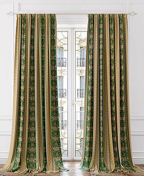 Комплект штор ТомДом Миролса (зеленый) комплект полотенец томдом тафири зеленый