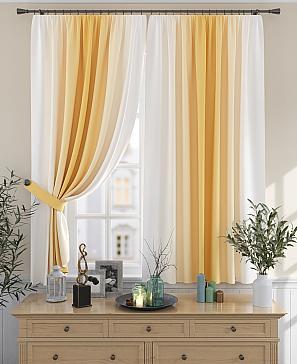 Комплект штор ТомДом Мираниас (желтый)