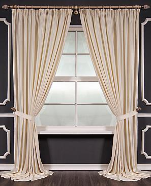 купить готовые комплекты штор с покрывалом для спальни недорого