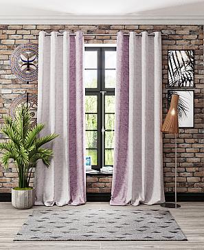 Комплект штор ТомДом Райтэ (фиолетовый) фото