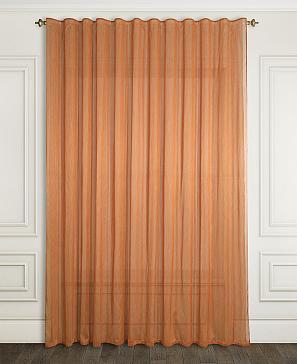 Тюль ТомДом Форгасио (оранжевый) скатерть томдом лектус оранжевый