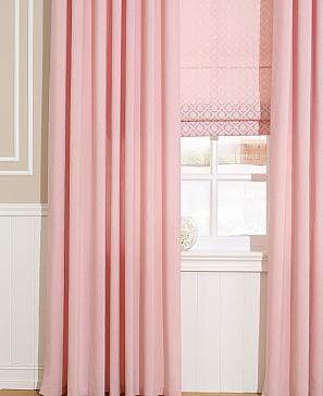 Комплект штор ТомДом Рамбус (розовый)