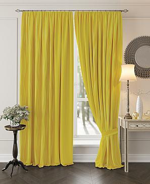Комплект штор ТомДом Миссилис (желтый)