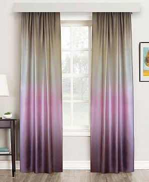 Комплект штор ТомДом Градбах (фиолетовый)