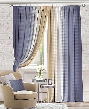 Комплект штор ТомДом Берни (Фиолетовый)