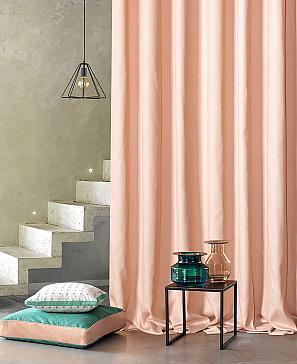 Портьера ТомДом Флани (пудрово-розовый) фото