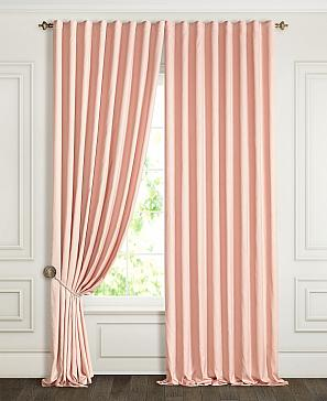 Комплект штор ТомДом Деорви (пудрово-розовый) фото