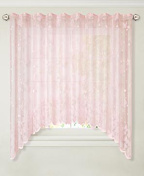 Тюль ТомДом Первау (розовый)