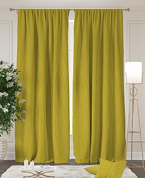 Комплект штор ТомДом Арния (желтый) фото
