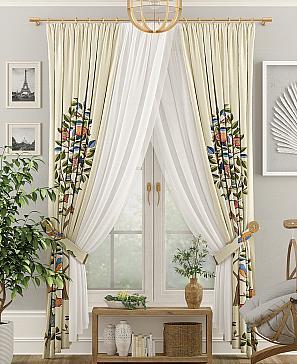 Комплект штор ТомДом Голиор фото