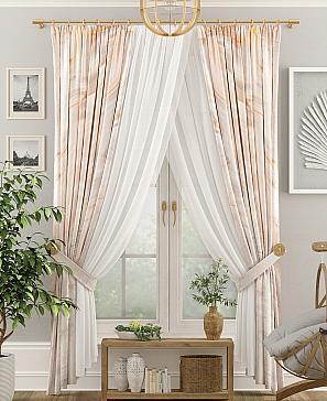 Комплект штор ТомДом Пиолис фото