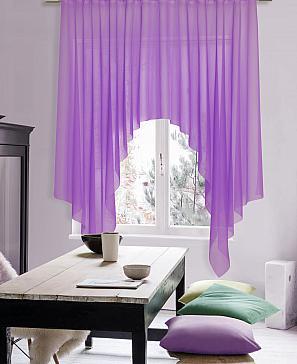 Тюль ТомДом Стим (фиолетовый)