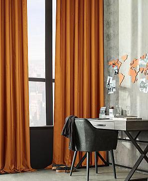 Комплект штор ТомДом Тафти (сиена) фото