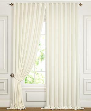 Комплект штор ТомДом Деорви (белый) фото