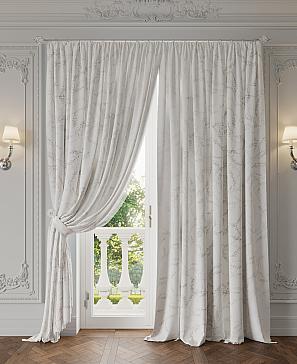Комплект штор ТомДом Иония (белый)