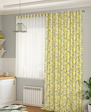 Фото - Дарсия (жёлтый) комплект штор томдом мигра жёлтый
