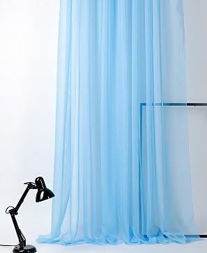 Тюль ТомДом Вилалио (голубой)