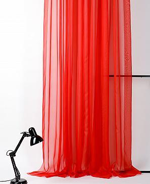 Тюль ТомДом Вита (красный) фото