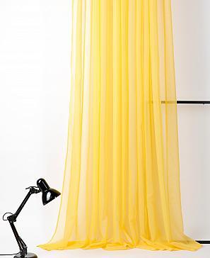 Тюль ТомДом Вилалио (желтый)