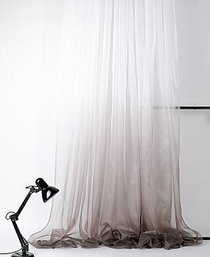 Тюль ТомДом Фавла (коричневый) фото