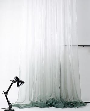 Тюль ТомДом Валфа (зеленый) фото