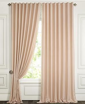 Комплект штор ТомДом Бруем (пудрово-розовый) фото